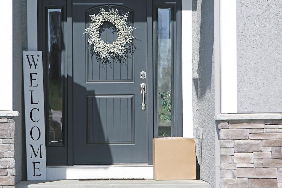 Front door in Rochester, MI.
