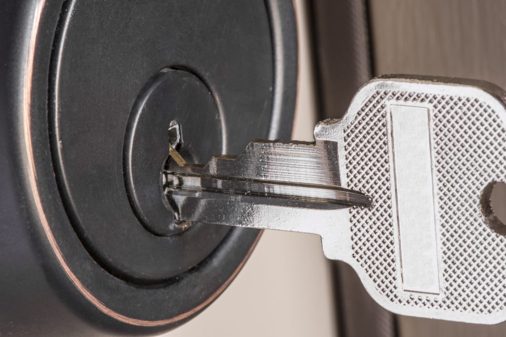 how master key systems work, key in door lock